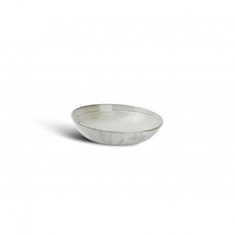 Assiette À pÂtes gris