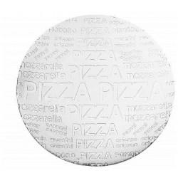 Assiette a pizza verre