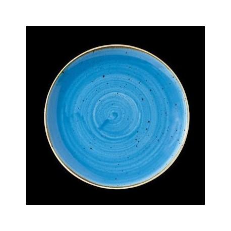 STONECAST BLUE ASSIETTE COUPE 21CM