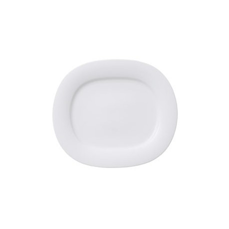 AFFINITY ASSIETTE OVALE 16X14,5CM