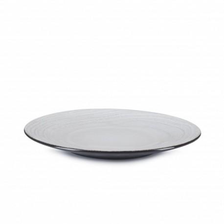 SWELL WHITE ASSIETTE PLATE 21.5CM