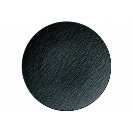 THE ROCK BLACK COUPE PLATE 29CM