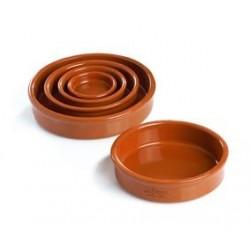 Plat rond terre cuite