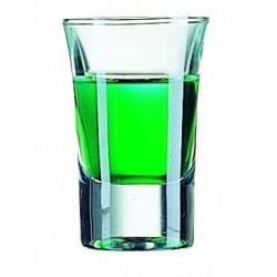 Hot shot verre 3,4 cl