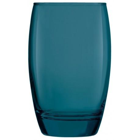 VERRE SALTO GOA BLUE 35CL FH