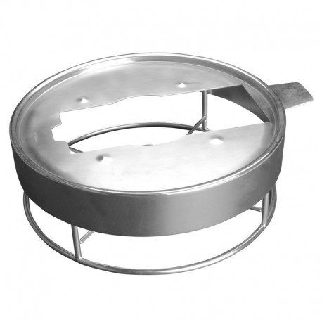 Evento support pour chafing dish brossé