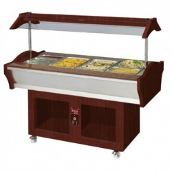 Buffet chaud mobile