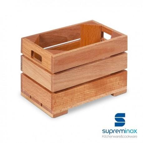 Mini caisse en bois