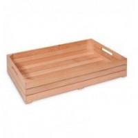 Caisse de présentation en bois GN1/1