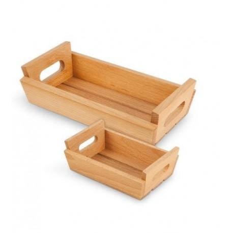 Mini caisse en bois 25x13cm