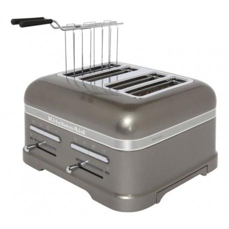Artisan grille-pain 4 fentes gris