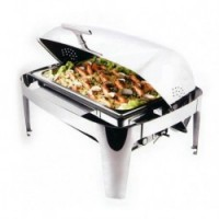 Chafin dish électrique roll-top GN1/1