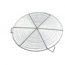 Grille ronde inox