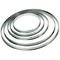 Cercle tarte inox h2
