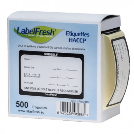 Etiquette labelfresh