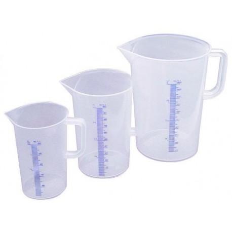 Pot a mesure plastique