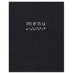 Carte menu a4 pablo