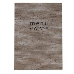 Andy carte menu a4
