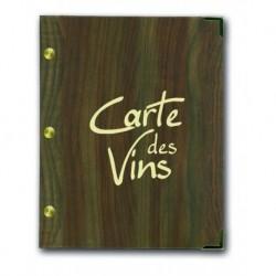 Carte des vins aspect