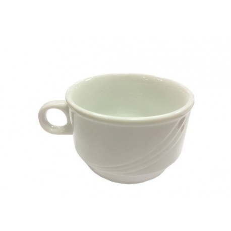 Tasse volute blanc