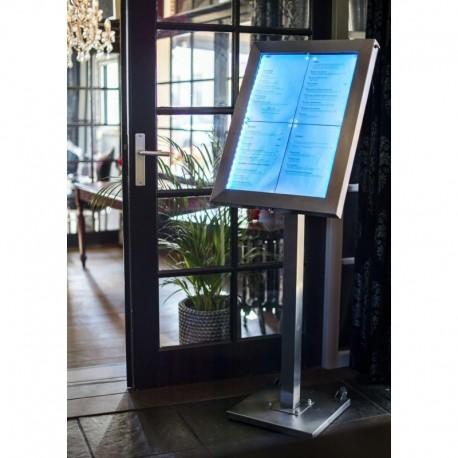 Porte menu led 6a4