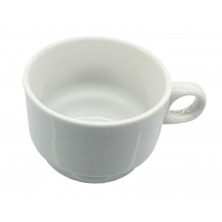TASSE A THE BLANCHE 18CL