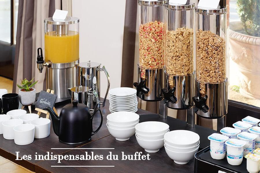 Les indispensables du buffet